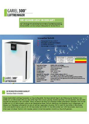 Hertl Ersatzteile Luftreiniger Gariel 300
