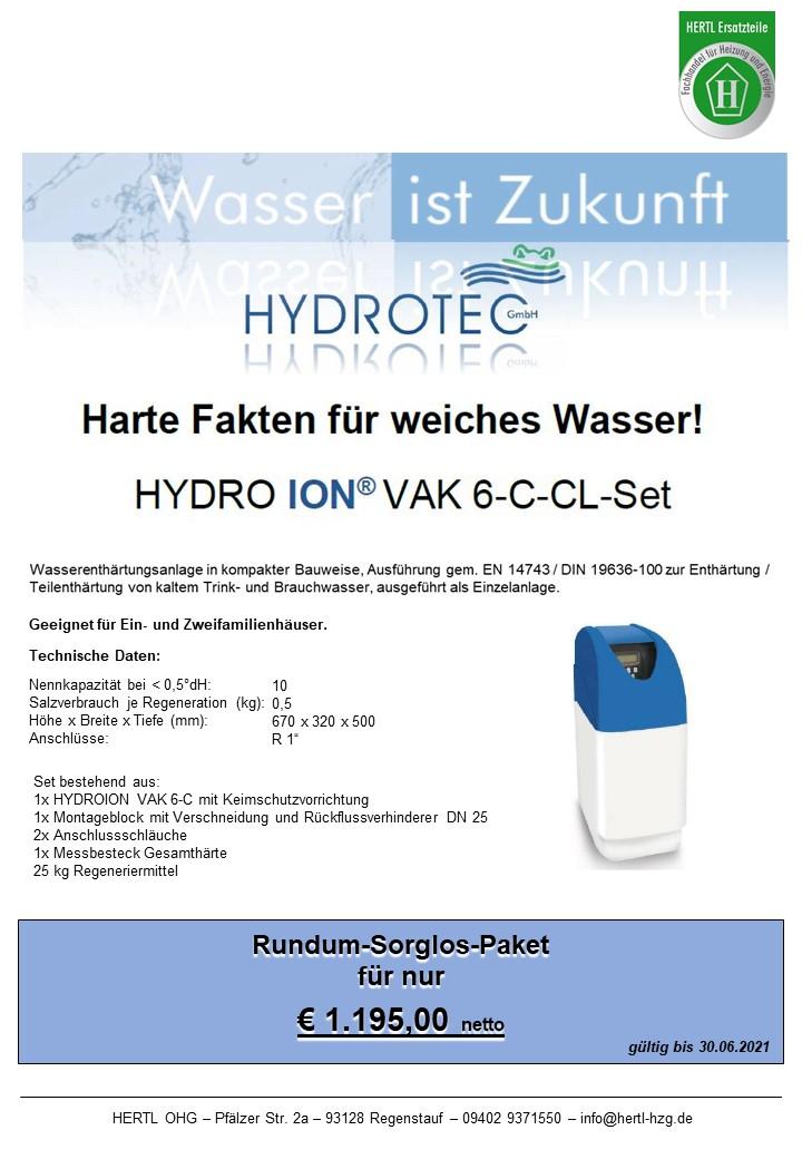 Hertl Ersatzteile Hydrotec VAK6