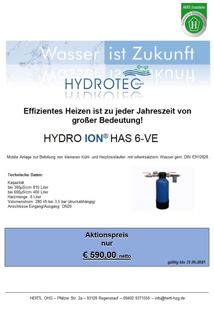 Hertl Ersatzteile Hydrotec HAS6