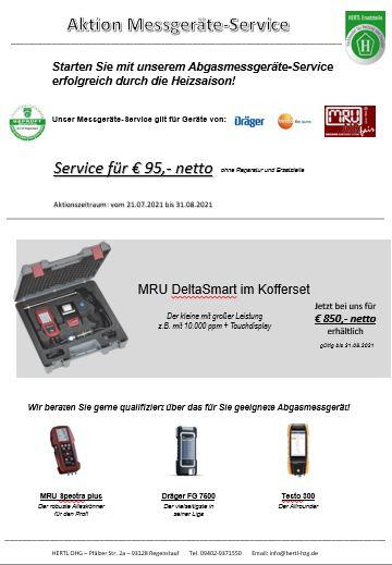 Hertl Ersatzteile Messgeräte Service